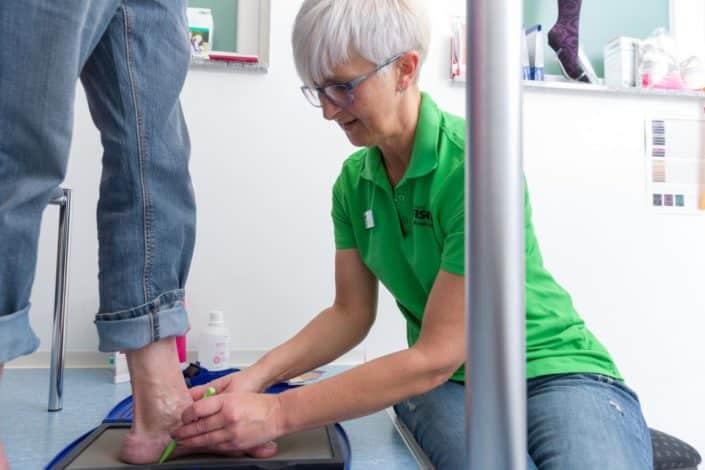 Fischer Orthopädie Leistungen Analysesysteme Messung