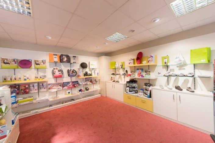 Fischer Orthopädie Galerie Laden