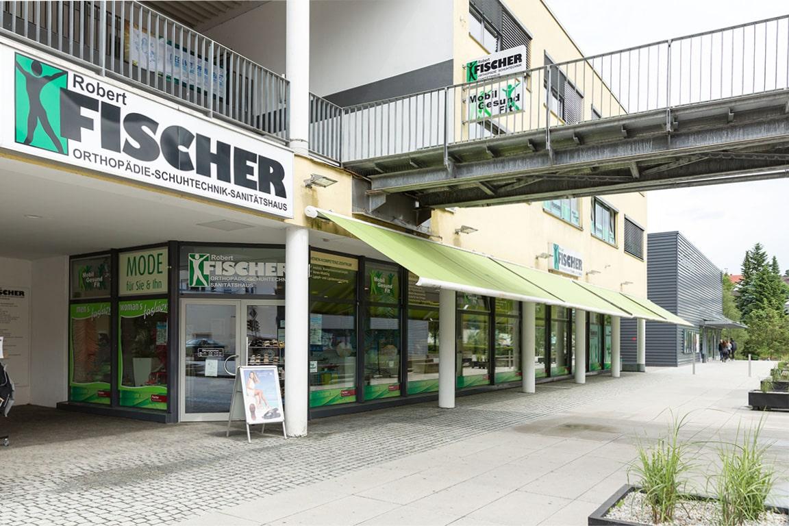 Fischer Orthopädie Kontakt Hauptfirmensitz Außen