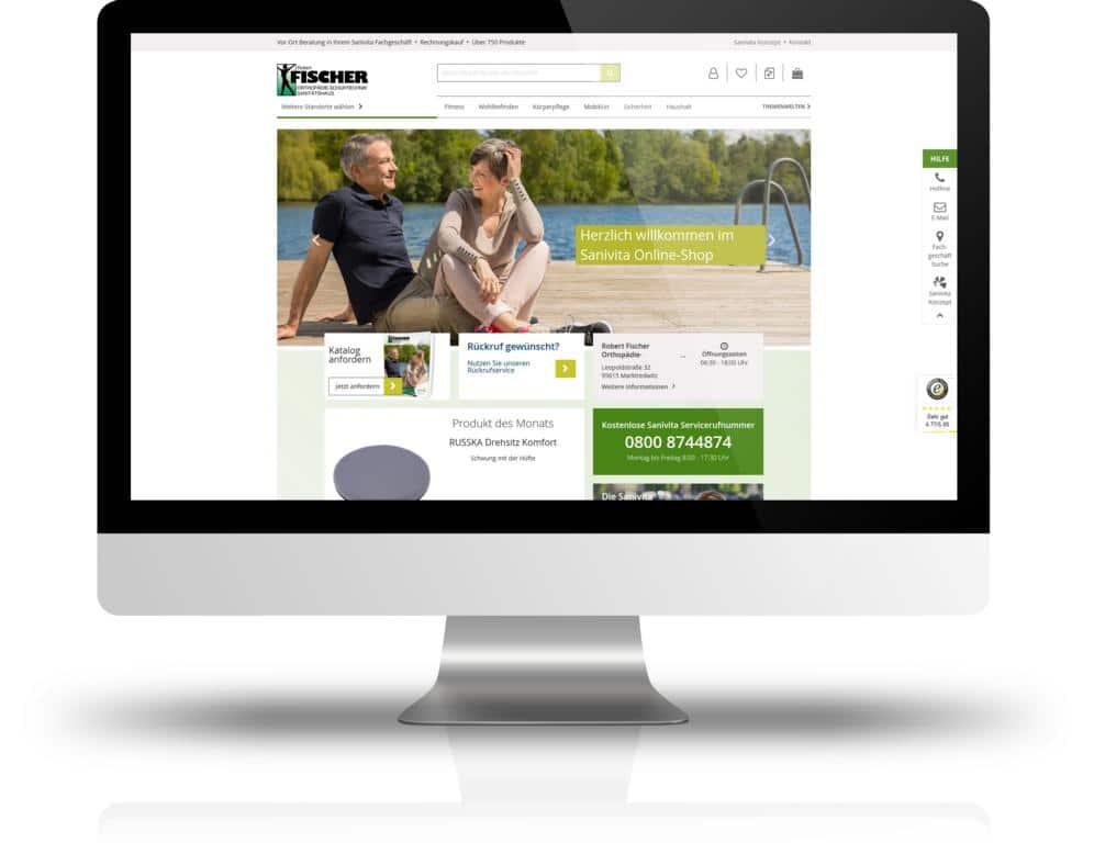 Fischer Orthopädie Link Webshop