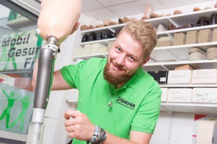 Fischer Orthopädie Leistungen Prothesen Bein